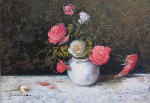 Rosas de mi jardín por Pilar García Escribano